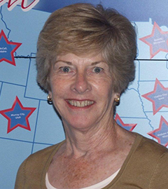 Barbara Vincentsen, America in Bloom judge