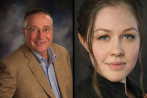 Terry Terhark and Veronika Scott are 2015 Commencement speakers.