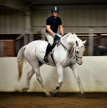 A member of the IHSA hunter/jumper team as a junior and senior, Oxender has opted for a focus on business.