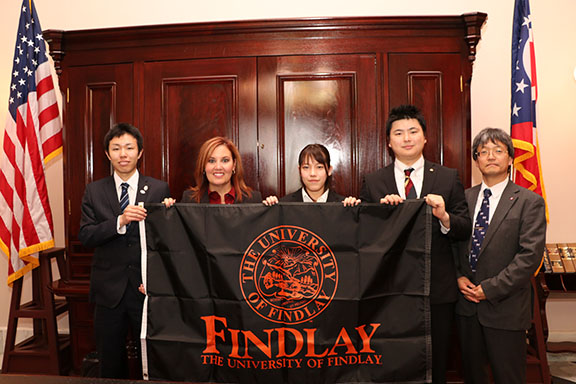 Visiting students from Saitama Prefecture, Japan, met with Lieutenant Governor Mary Taylor and JobsOhio staff.