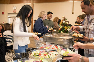 Several attended last year's Thanksgiving lunch.