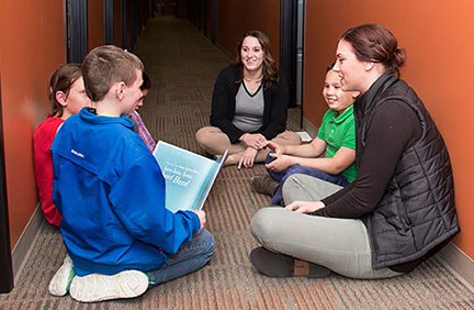 The Clubhouse provides free small group and individual tutoring.