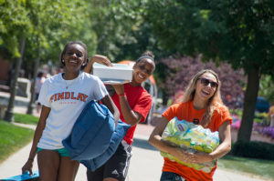 University of Findlay, move-in day, events, projects, renovations, welcome