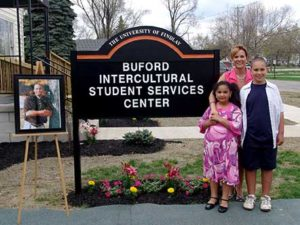University of Findlay couples, University of Findlay alumni couples, Valentine's Day, Valentine stories, Valentine story, Desmond Buford, Barb Buford, Buford family, Trey Buford, Buford dedication, Buford Center for Intercultural Student Services, Buford Center, Buford Intercultural Student Services Center, Findlay Faithfuls, Findlay couples, UF couples, UF alumni couples, through the arch and down the aisle