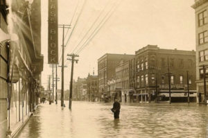 1913 flood, Findlay, University of Findlay, capstone project, documentary