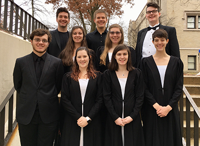 University of Findlay students selected to perform in the All-State Collegiate Band and Jazz Ensemble.