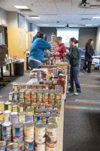 helping hands food collection
